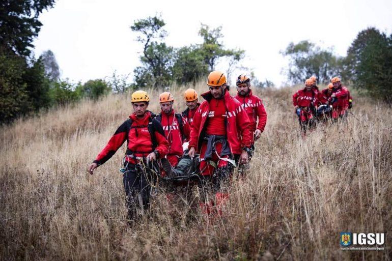 Membri Salvamont in actiune de salvare in an jubiliar pentru Salvamont Romania