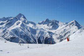 Les Deux Alpes, pow