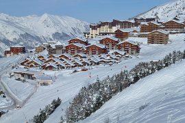 Val Thorens, cea mai bună staţiune de schi din lume