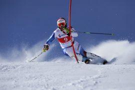 Concurs de slalom la Transalpina