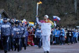 Flacăra olimpică Sochi 2014