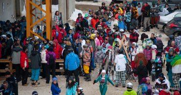 Aglomeraţie la ski