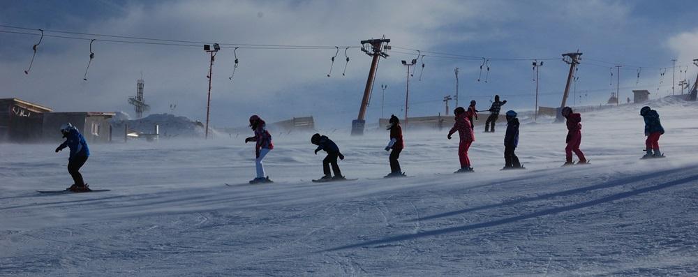 Scoala de schi de la Straja
