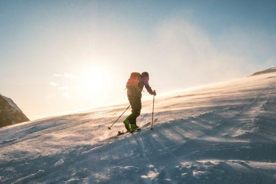 pierde greutatea în timp ce schi