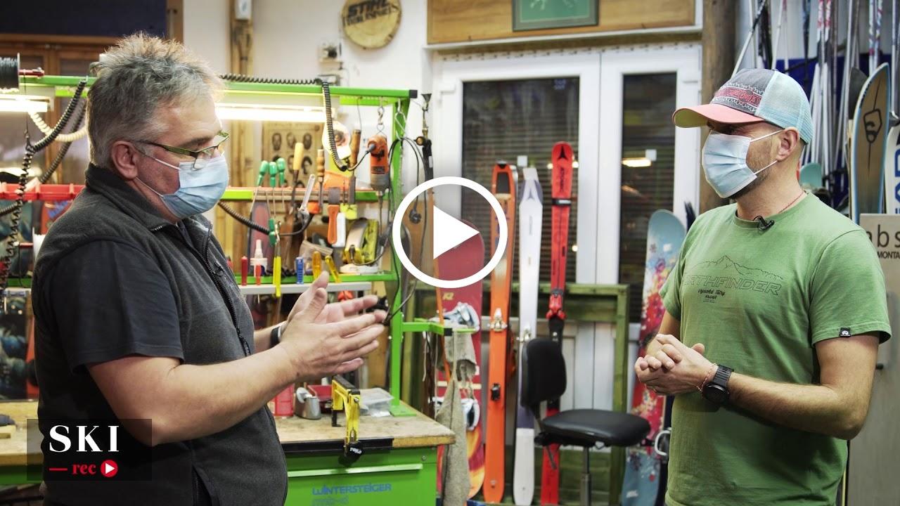 SKI rec | Polartek – Pregătirea schiurilor – Partea 1