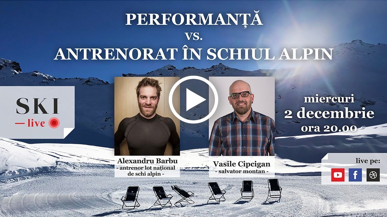 Performanță vs. antrenorat în schiul alpin